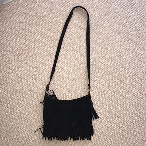 Brandy Melville fringe crossbody bag